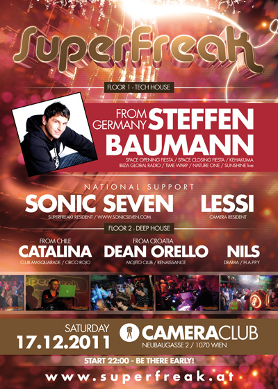 Superfreak! presents Steffen Baumann (Back)